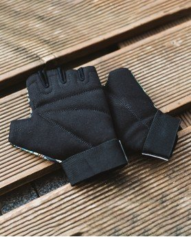 Yellow safari gloves