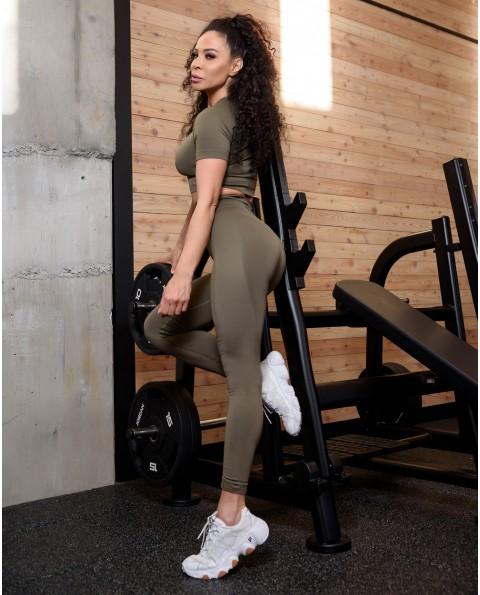 New Seamless green tights